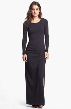 James Perse Side Slit Maxi Dress available at #Nordstrom