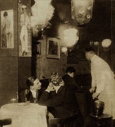 Berlin gay bar, c1933. It was later closed Down by the NS regime