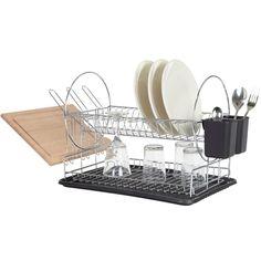 egouttoir-vaisselle-design-noir-yamazaki   Décor   Pinterest ...