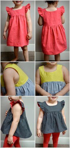 Elegance & Elephants: Bohemian Babydoll Dress and Top Pattern