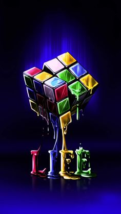 Life is Puzzle iPhone Wallpaper - iPhone Wallpapers
