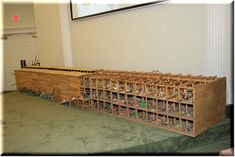 16 Foot Model of Noah's Ark. Animals Including Dinosaurs