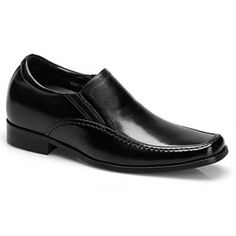 2016 new men genuine leather oxford business dress shoes height increasing 7.5cm/2.95inch