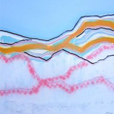 Copyright © Yvette Swan, Snowfield  Featuring work by Yvette Swan -  available at Anthea Polson Art on the Gold Coast Australia, specialising in contemporary Australian art and sculpture #australianart