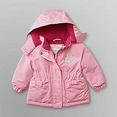 6bc2f8724 Kmart 2013: WONDERKIDS: Ski Jacket w Rhinestone Toddler Girl, Ski, Rain  Jacket