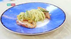Ricette Benedetta Parodi: tagliatelle con crema di zucchine e gamberi (VIDEO) | Ultime Notizie Flash