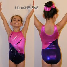 Gymnastics Leotard - Fleur by Lilachelene
