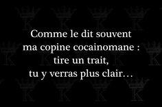c'est clair !! Fb Quote, Quote Citation, Words Quotes, Wise Words, Life Quotes, French Words, French Quotes, Mots Forts, Word Sentences