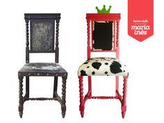 Um trono para uma princesa. Reciclagem para Cliente.