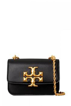 Tory Burch Damen Umhängetasche Eleanor Small Schwarz | SAILERstyle Tory Burch, Shops, Trends, Designer, Women's Fashion, Shoulder Bag, Handbags, Fashion Styles, Bags