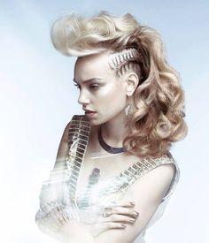 Beautiful side braid by Errol Douglas of the U.K. #blonde #beautifulhair #hotonbeauty hotonbeauty.com