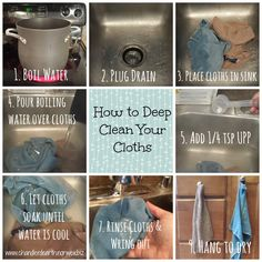 How to Deep Clean Your Norwex Microfiber Cloths - The Crazy Cleaning Lady Norwex Biz, Norwex Cleaning, Green Cleaning, House Cleaning Tips, Spring Cleaning, Cleaning Hacks, Cleaning Cloths, Cleaning Lists, Cleaning Schedules