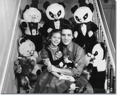 Jan. 8, 1958 Eight-year-old Mary Kosloski had a date with Elvis he kept her waiting for more than two hours. The Collierville girl, who was the national March of Dimes poster child in 1955, seemed to forgive all when Elvis appeared and told her: 'If you were 10 years older, honey, I wouldn't let you go'.