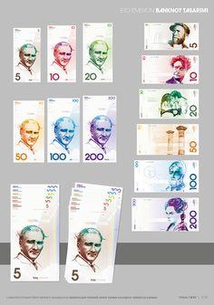 Turkish Lira Currency Design on Behance