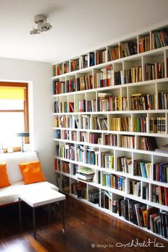 And that is the perfect furniture my room requires - Houses interior designs Home Library Design, House Design, Library Bar, Style At Home, Home Libraries, My Room, Sweet Home, New Homes, Interior Design