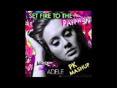 """""""Maroon 5 and Adele - Set Fire to the Payphone"""" (PK Mashup) - http://best-videos.in/2012/11/23/maroon-5-and-adele-set-fire-to-the-payphone-pk-mashup/"""