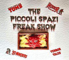 Miniatura horror Halloween uomo tendine di PiccoliSpazi su Etsy