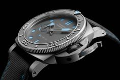 Novedades Panerai 2021 - Panerai Submersible eLab ID PAM01225 Detalle carrura Iwc, Breitling, Panerai Submersible, Haussmann, Steel Manufacturers, Patek Philippe, Recycled Materials, Rolex Watches, Recycling