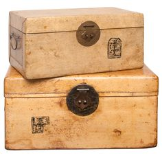 Chinese Document Boxes