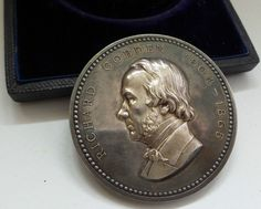 RICHARD COBDEN : REICHARD COBDEN MEMORIAL MEDAL WITH BOX & 1 RUPEE NOTE (BY) Note, Coins, Buy And Sell, Memories, Personalized Items, Stuff To Buy, Memoirs, Coining, Souvenirs