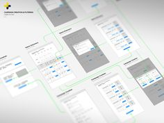 Wireframe for app