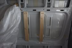 Framing the Van- Adding Wooden Studs in our the Walls of Our Sprinter — The Vanimals
