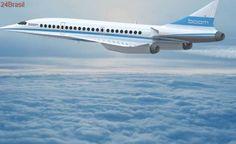 Primeiro voo comercial de avião supersônico sai em 2023
