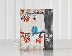Pumpkins Fall Sign Pumpkin Painting Rustic by LindaFehlenGallery