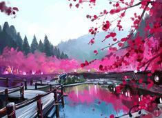 Sakura by Elentori.deviantart.com on @deviantART