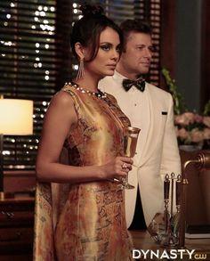 31 Best Dynasty Looks Images Workwear Elizabeth Gillies Fashion Tv