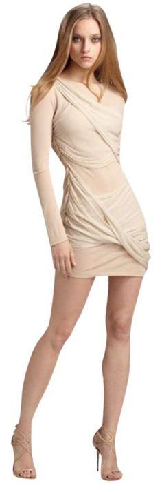 6c05194a15d01d Alice + Olivia Nude Dress. Free shipping and guaranteed authenticity on  Alice + Olivia Nude. Tradesy