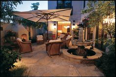 Transform your backyard into an outdoor oasis! Create the perfect outdoor living room for your climate, and spruce up your garden with fun DIY projects. Outdoor Living Rooms, Outside Living, Outdoor Spaces, Living Spaces, Outdoor Decor, Outdoor Stuff, Outdoor Ideas, Fresco, Outdoor Wicker Furniture