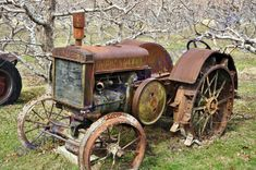 When I see an old tractor like this one, I just have to snap a picture of it.