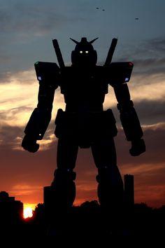 Life size Gundam in Japan