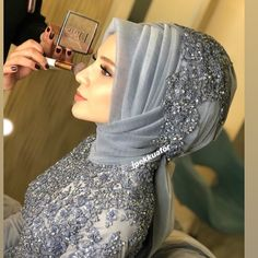G r nt n n olas i eri i 1 ki i Bridal Hijab, Disney Wedding Dresses, Pakistani Wedding Dresses, Disney Dresses, Bridal Dresses, Dress Wedding, Hijab Chic, Nigerian Weddings, African Weddings