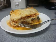 Bariatric Foodie: Noodle-less Lasagna-This is good even if you are not on a diet.