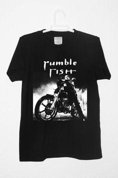 RUMBLE FISH MICKEY Rourke Motorcycle Boy Camiseta por RetroBCN