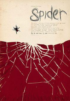 Spider #poster #keyart by Jeremy Saunders