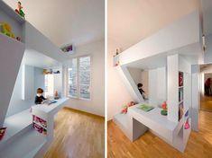 Kinderkamer met bunkerbed | Inrichting-huis.com