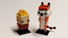 Calvin and Hobbes LEGO Brickheadz