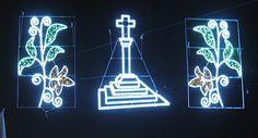 Iluminación Artística Galicia www. Teen, Neon Signs, Folklore, Pilgrim, Artists