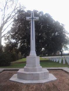 Ingresso del cimitero di guerra a Bolsena