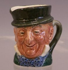 Gentleman toby Mug Royal Doulton