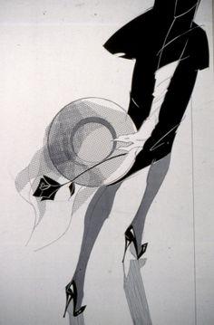 Fashion illustration. F.J.W.
