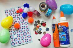 Fun With Plastic Eggs! - The Imagination Tree