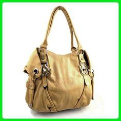 33af173a9a New York Hobo Handbag (White) - Top handle bags ( Amazon Partner-