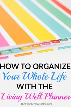 Wellness Want to get your life and budget organized in Me too! Find out how I'm staying organized with the Living Well Planner. - Want to get your life and budget organized in Me too! Find out how I'm staying organized with the Living Well Planner. Home Management, Time Management Tips, Life Planner, Happy Planner, Planner Ideas, Budget Organization, Organizing Ideas, Get Your Life, How To Get