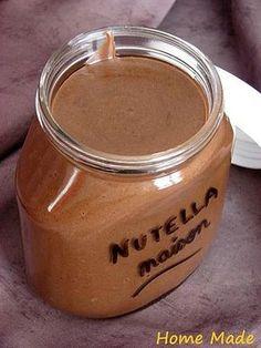 nutella maison (sans