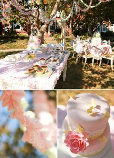 Sweet Butterfly birthday party by Love the Day-- or perhaps Easter?... sorry it