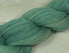 Handgesponnen & -gefärbt - ❉Mermaid❉ Merino Seide pflanzengefärbt - ein Designerstück von folly-me bei DaWanda